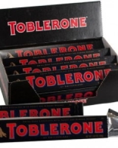 12 x Toblerone dark `100 g