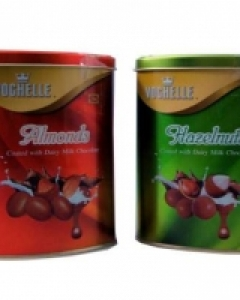 2 Vochelle tin box