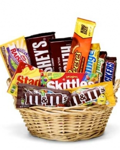 15 items Chocolate Lover basket