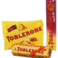Toblerone set.